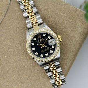 Rolex Ladies Datejust Diamond Dial & Bezel